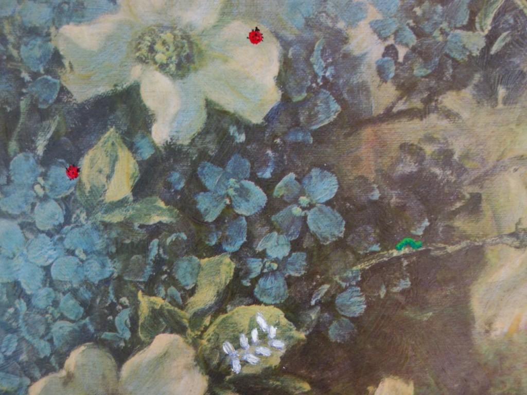 Simon Yates Painting bugged detail